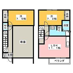 メゾン・M1[2階]の間取り