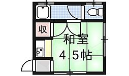 椥辻駅 1.8万円