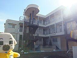 千葉県松戸市六高台9丁目の賃貸マンションの外観