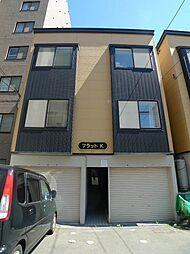 北海道札幌市白石区菊水二条2の賃貸アパートの外観