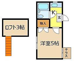 セドルハイム朝霞[2階]の間取り