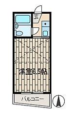 カーム玉川学園2[2階]の間取り