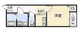 ケイ・エスパシオ曽根[2階]の間取り