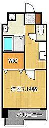 (仮称)折尾4丁目賃貸マンション 9階1Kの間取り