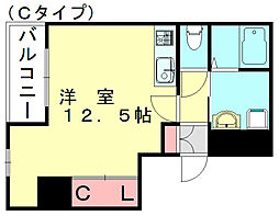 LUXEI[8階]の間取り