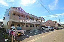 岡山県岡山市中区長岡丁目なしの賃貸マンションの外観