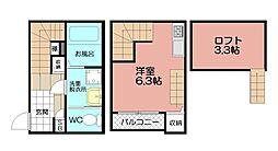 myレジデンス博多駅[101号室]の間取り