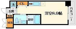 グレンパーク江坂II[5階]の間取り