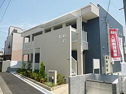 大阪府枚方市田口1の賃貸アパートの外観