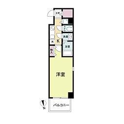 La Douceur心斎橋(旧 COMODA CASA)[0604号室]の間取り