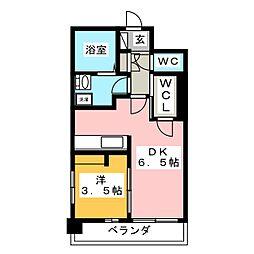 GREENFIRST・平尾[7階]の間取り