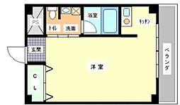 アマントリビエールシギノ[6階]の間取り