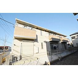 埼玉県川越市上寺山の賃貸アパートの外観