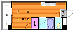 リバーサイドシャトー[4階]の間取り