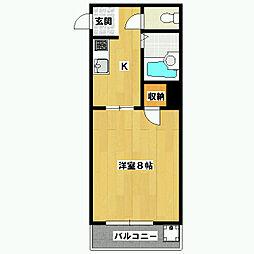 プラム21[2階]の間取り