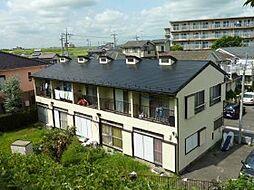 千葉県流山市流山の賃貸アパートの外観