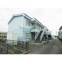 静岡県焼津市利右衛門の賃貸アパートの外観