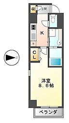 シュテルン23[3階]の間取り