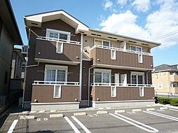 岡山県倉敷市中畝9の賃貸アパートの外観