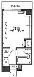 コーポヤマモト[203号室]の間取り