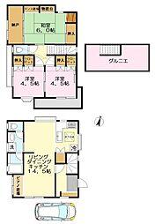 [一戸建] 東京都稲城市押立 の賃貸【/】の間取り