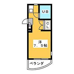 ESPACE A[4階]の間取り
