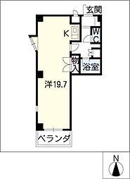 Vip−in太平洋ノースヒルズ[2階]の間取り