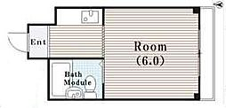 JPアパートメント守口VIII[4階]の間取り