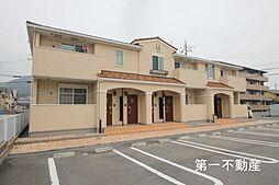兵庫県加東市下滝野3丁目の賃貸アパートの外観