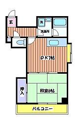 タシカンサル[2階]の間取り