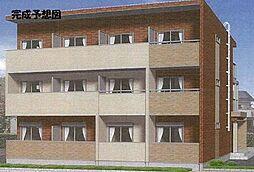 千葉県松戸市秋山1丁目の賃貸アパートの外観