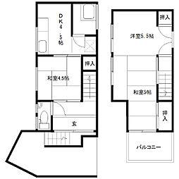 崇福寺駅 5.0万円