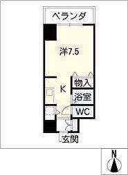 IZM36[9階]の間取り