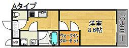 セレーナ住之江I番館[2階]の間取り