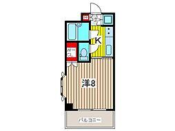 埼玉県戸田市下前2丁目の賃貸マンションの間取り