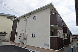 兵庫県姫路市大津区吉美の賃貸アパートの外観