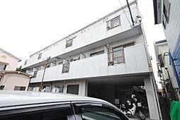 埼玉県越谷市蒲生南の賃貸マンションの外観