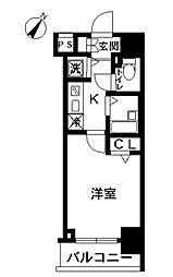 スカイコート池袋第7[9階]の間取り