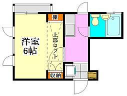 パレットハウス津田沼[2階]の間取り