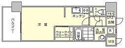 エンクレスト博多3[10階]の間取り