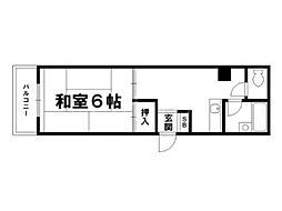 ラ・ヴァリエ[3階]の間取り