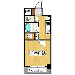 Un Castello 西院(アンカステッロ西院)[2階]の間取り