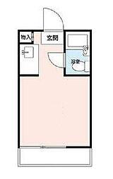 神奈川県川崎市多摩区東三田3丁目の賃貸アパートの間取り