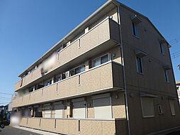 埼玉県草加市新栄3丁目の賃貸マンションの外観