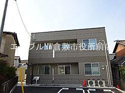 岡山県倉敷市東町の賃貸マンションの外観