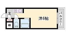 マーシモラール宮本[3階]の間取り