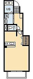 グラースメゾン 神宮[1階]の間取り