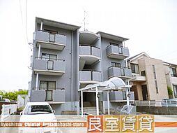 愛知県名古屋市天白区保呂町の賃貸マンションの外観