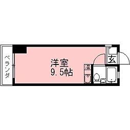 コートハウスアカオ[W-1号室]の間取り