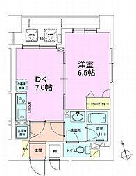 銀座レジデンス壱番館[9階]の間取り